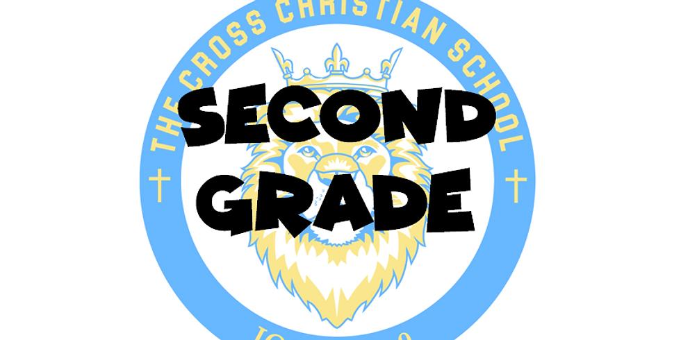 2021-2022 Second Grade Enrollment