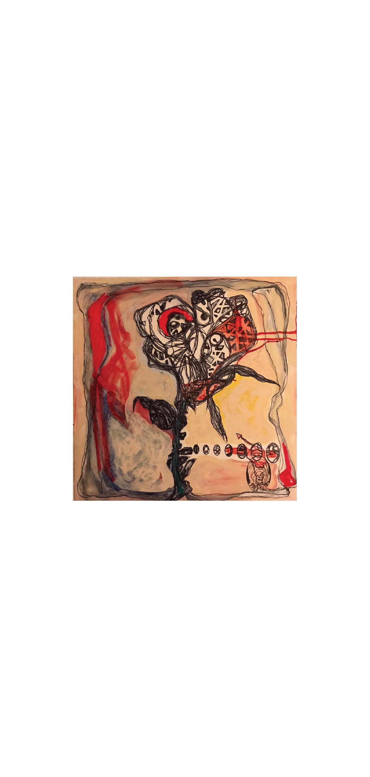 """Rosa Carnivora"", 2017"
