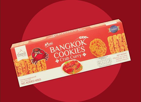 BANGKOK COOKIES รสปูผัดผงกะหรี่ 100 กรัม