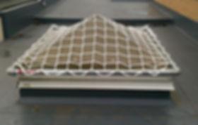 Safetube net over skylight .jpg