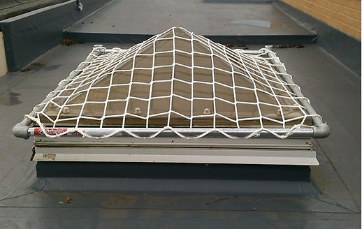 skylight protection system safetube safety net SPS