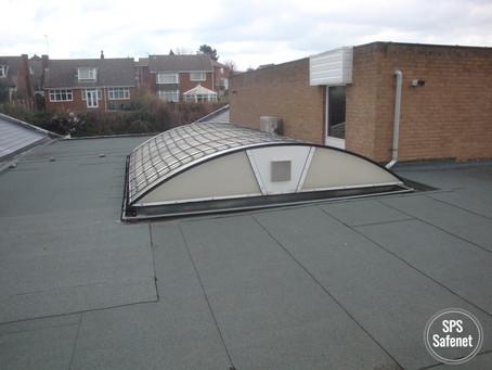 The Original Skylight Safety Nets System