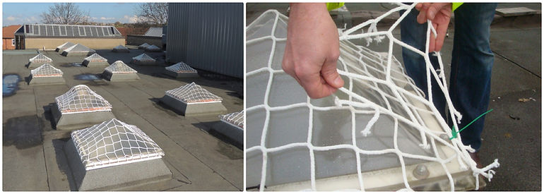 sps safenet test tags CDM regulations for skylight roof protection