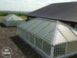 skylight roof protection system safetube safety net SPS
