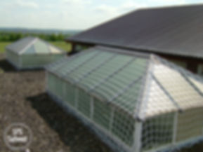 roof light safety protection system with SPS Safenet protecting large Georgian Window.jpg
