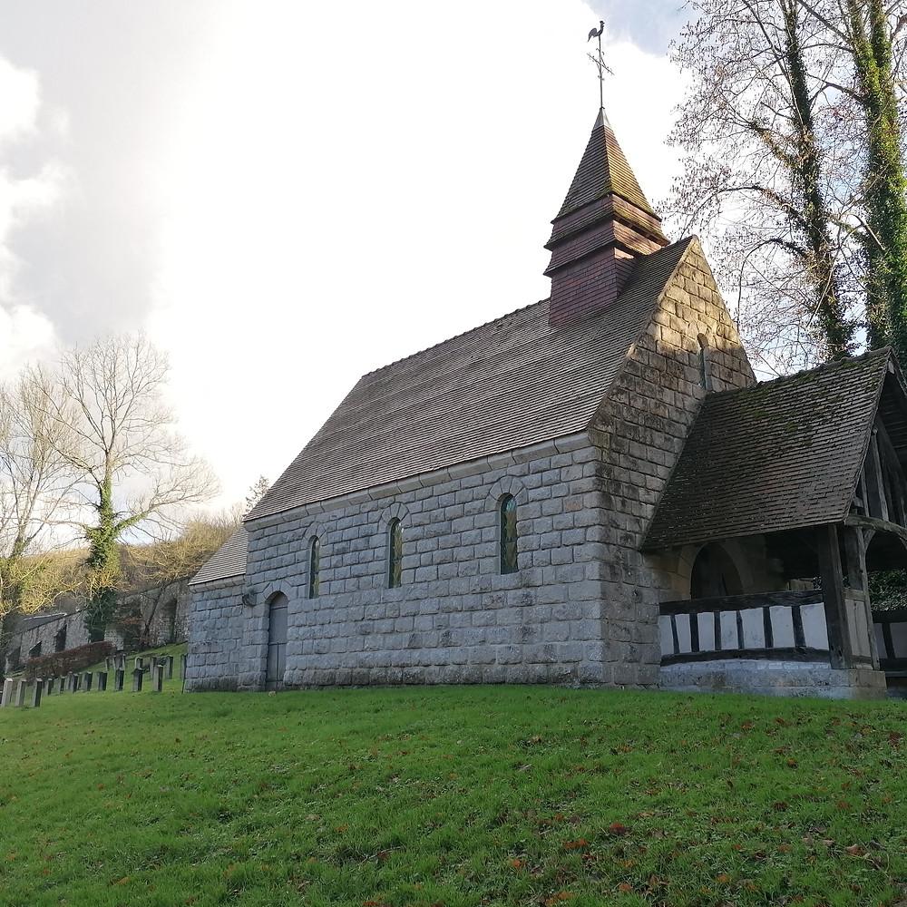 Abbaye Normande @SandrinePérégrine