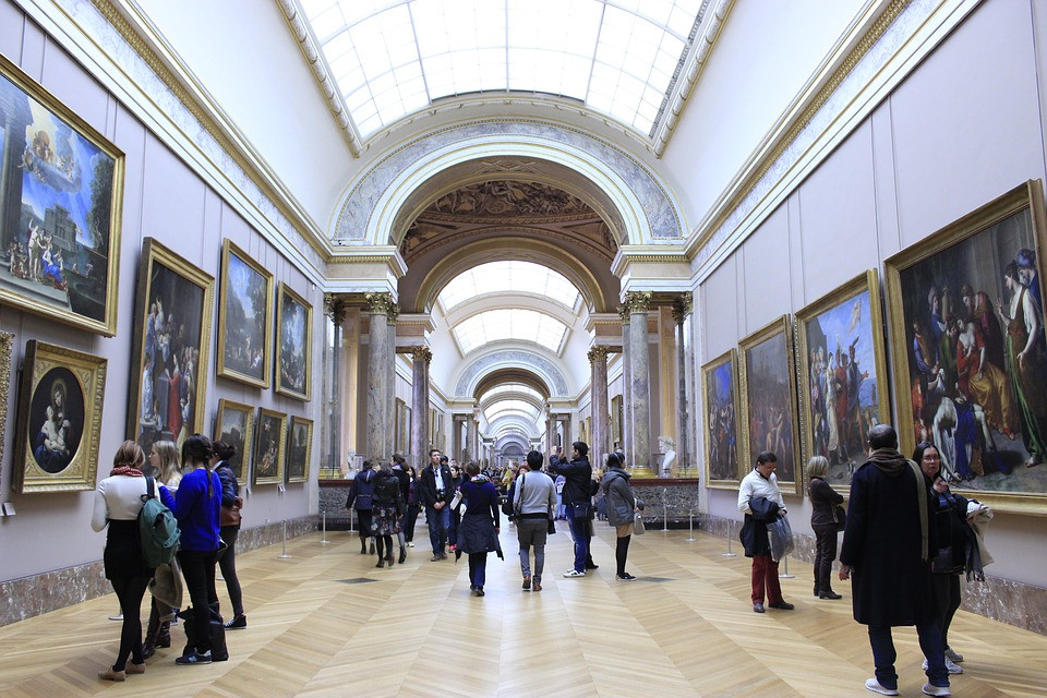 Salle du Louvre @neocorreia Pixabay