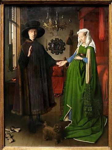 Les époux Arnolfini, 1434 @Sailko LicenceCC