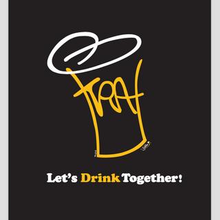 """TRA"" logo collab design. Illustrator. (「TRA」ロゴデザイン、イラストレータ使用) [Sumitani/Jackie]"
