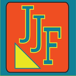 """""""JJF"""" logo design. Illustrator.  (「JJF」ロゴデザイン、イラストレータ使用)"""