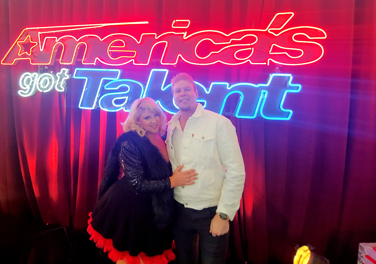 AGT with my Wife