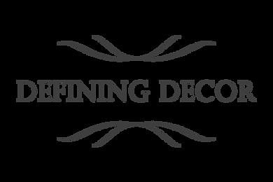 defining decor wedding decor