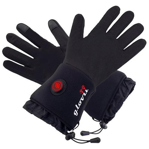 Beheizbare Handschuhe mit Akku, 1 Paar
