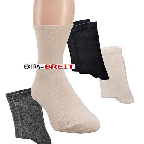 Wellness Socken EXTRA-BREIT, 2 Paar