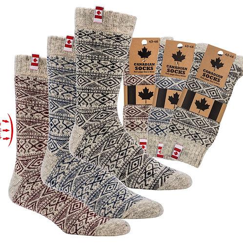 Canadian Socks Thermowollsocken, 1 Paar