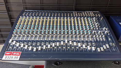 Behringer Eurodesk Mx 2442a 24 Channel Mixing Board With Power Supply Washington