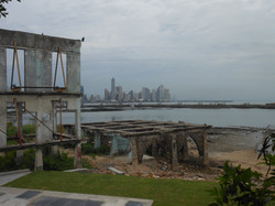 Panama City from Noriega's Club