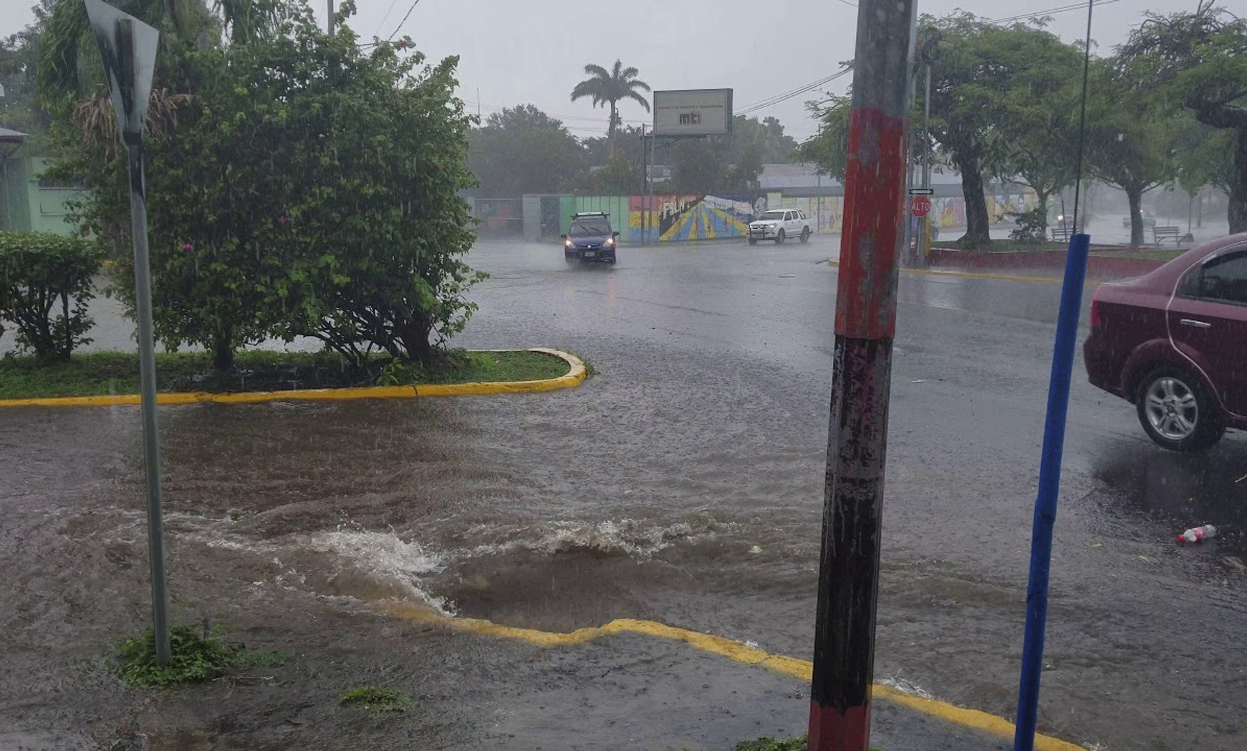 Afternoon Rains near the Old Estadio Nacional de Dennis Martinez; Managua, Nicaragua