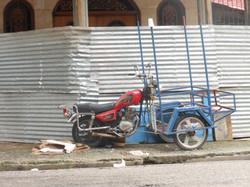 Street Vendor's ride