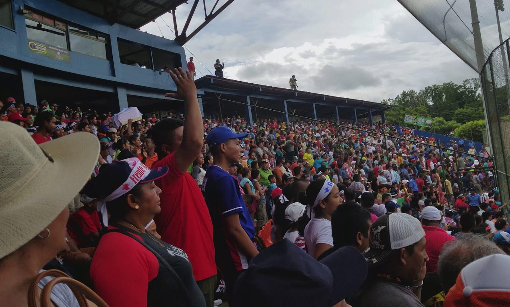 Stadium Sounds: Go Ahead Run by Frente Sur in POMARES World Series, Frente Sur vs. Leon in Rivas, Nicaragua