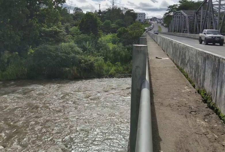 Layers of Infrastructure: Interamericana from the Puente Rio Chiriqui Viejo; Paso Canoas, Panama
