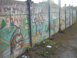 Mario Bros. Graffiti in Managua