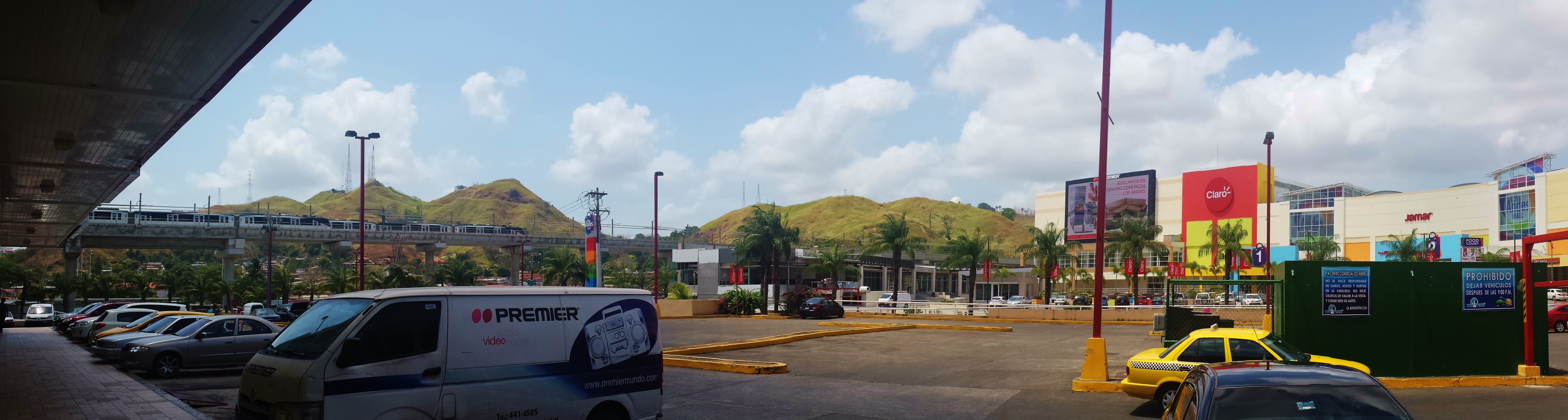Panorama of the Los Andes Mall