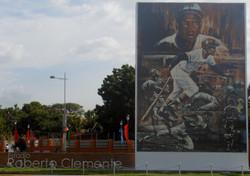 Roberto Clemente Stadium in Managua