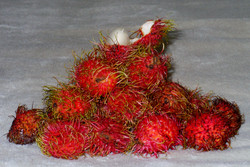 Lychee from the market