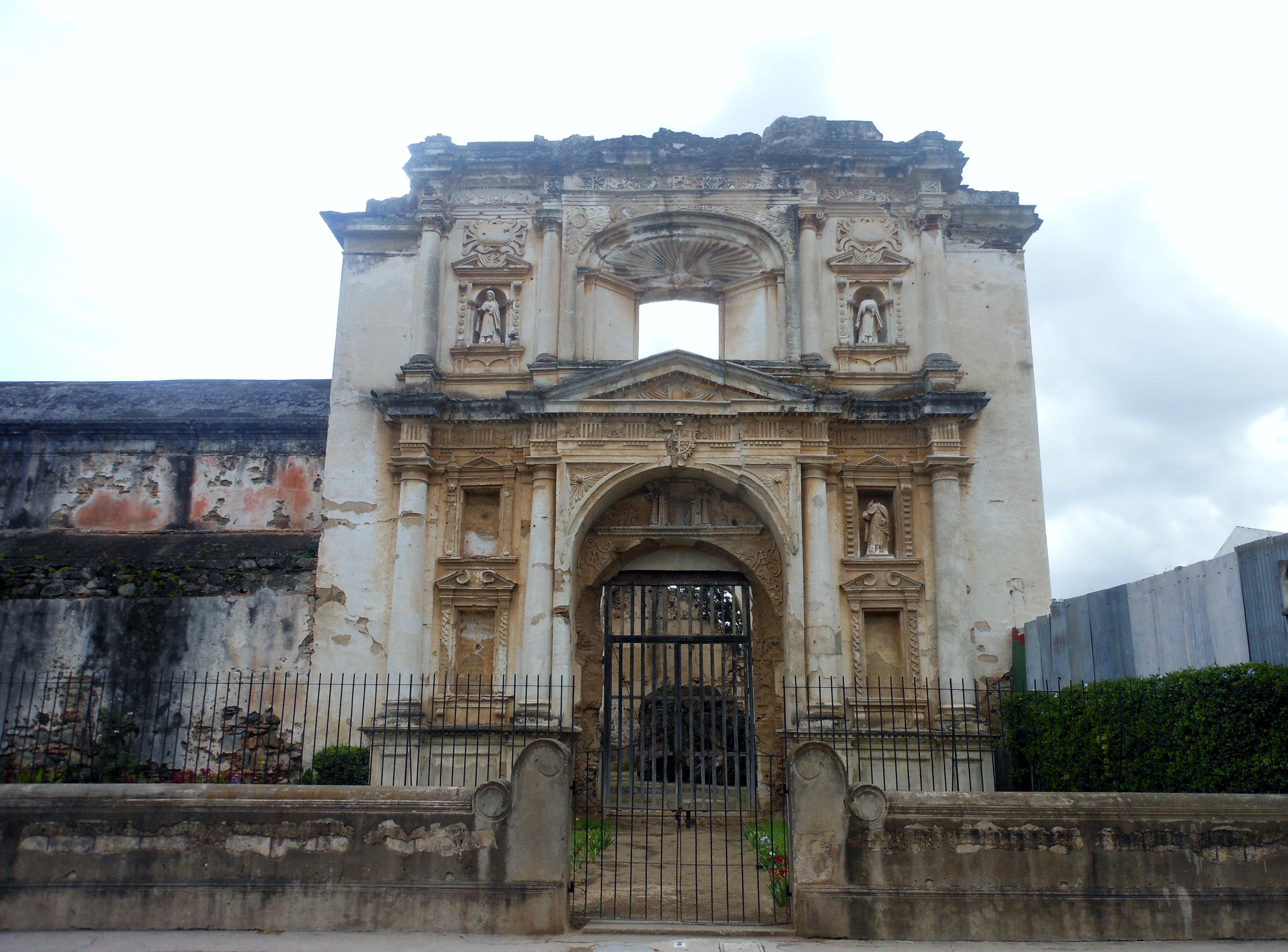 Antiguan ruins