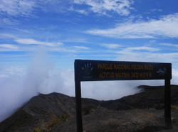 The highest point at Irazo Volcano