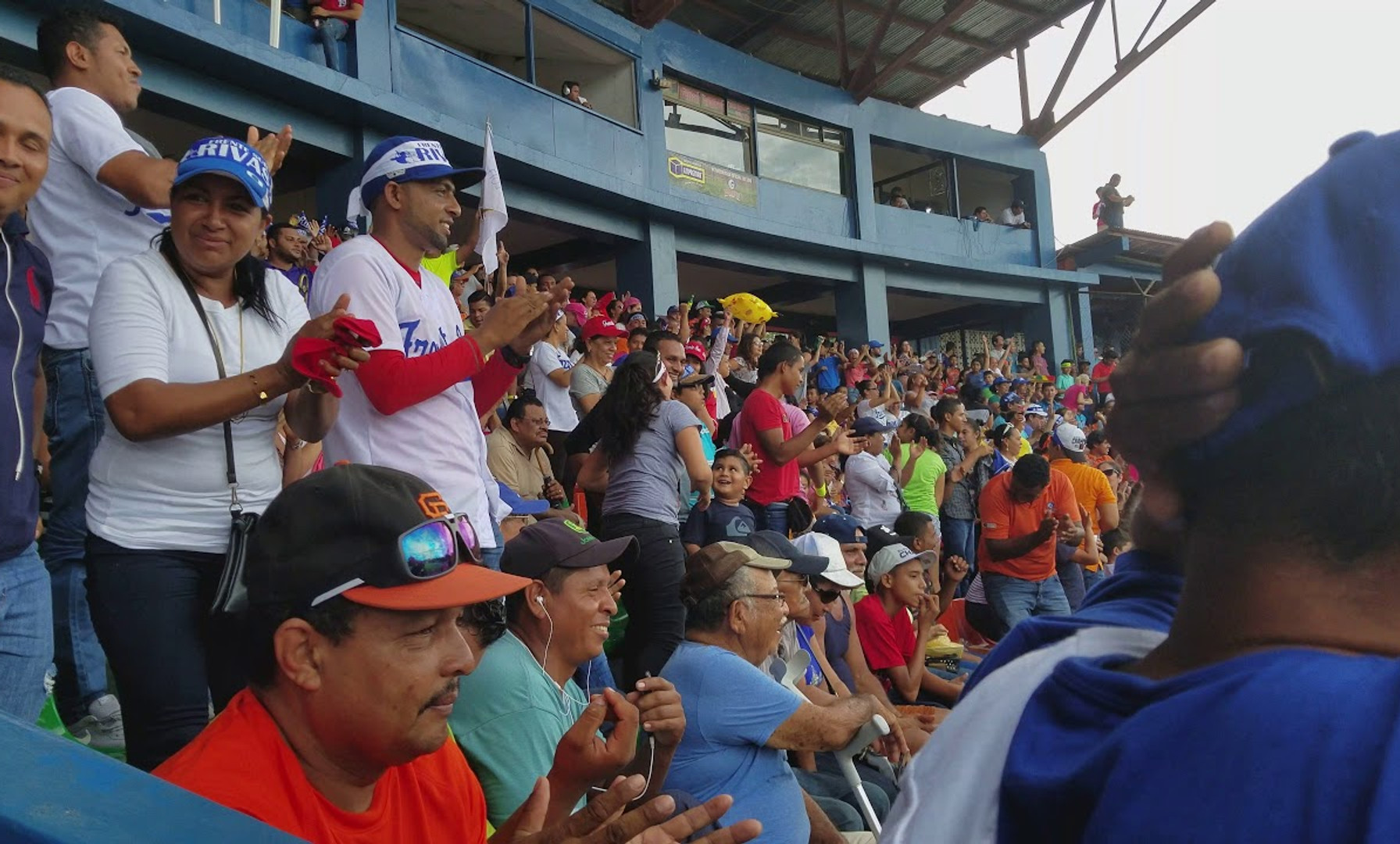 Stadium Sounds: Game Saving Strikeout by Frente Sur at the POMARES World Series, Frente Sur vs. Leon in Rivas, Nicaragua