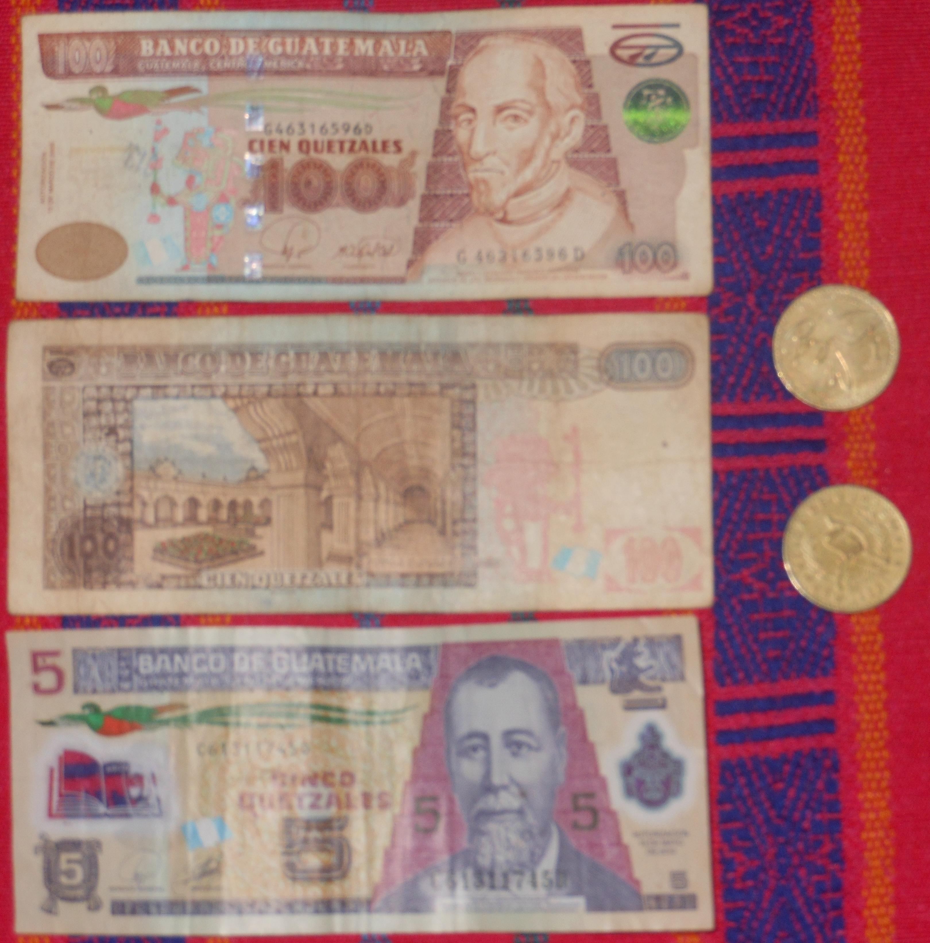 Guatemalan Quetzales