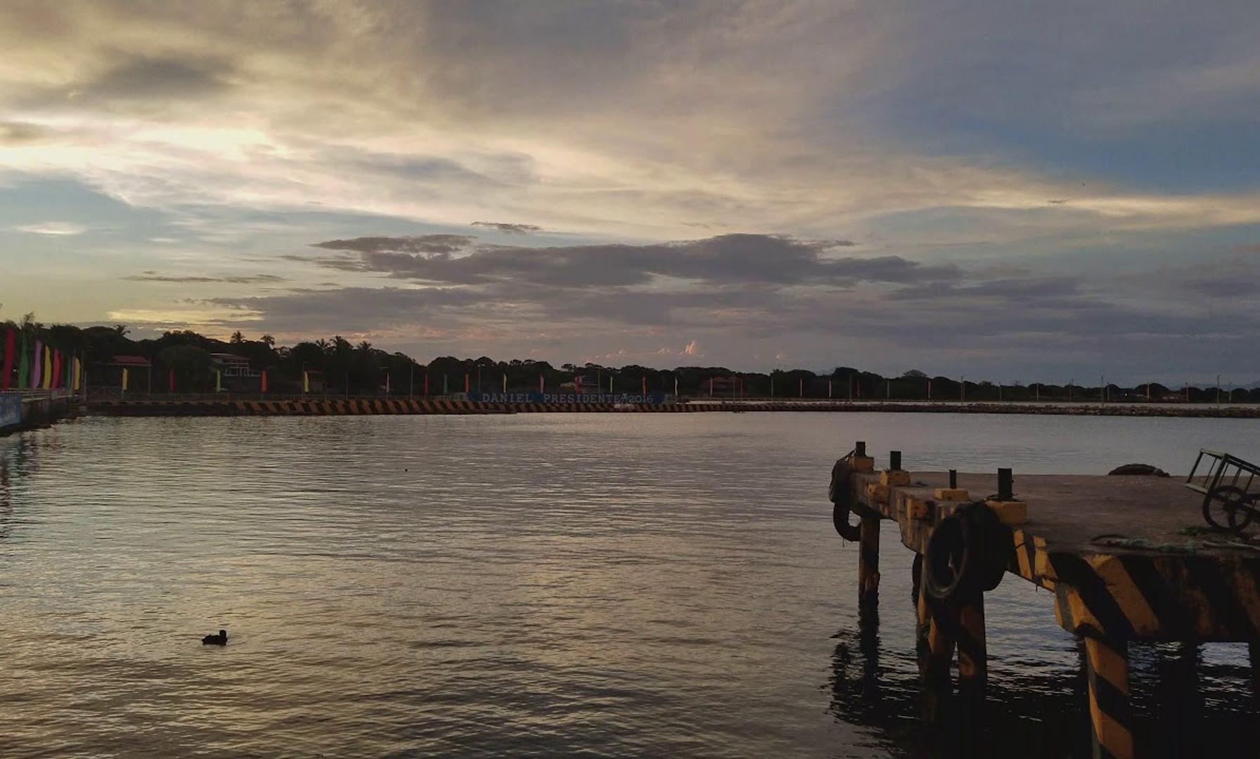 Sunset Sounds on the the Pier at Playa San Jorge; San Jorge/Rivas, Nicaragua