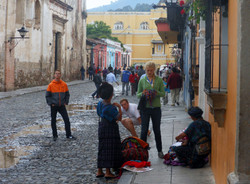 Market women in Antigua