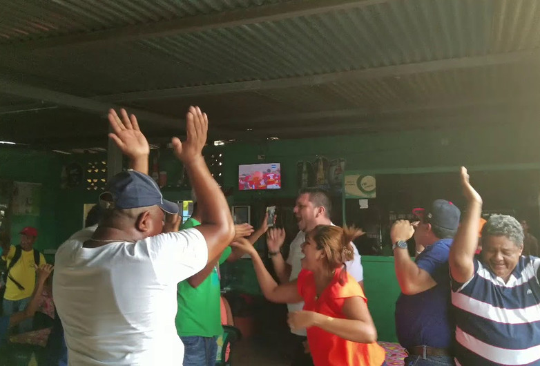 Frente Sur Wins the POMARES World Series from a Bar in Penas Blancas, Nicaragua
