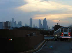 Panama City from Allbrook terminal