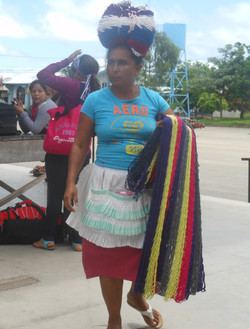 Vendor in Penas Blancas
