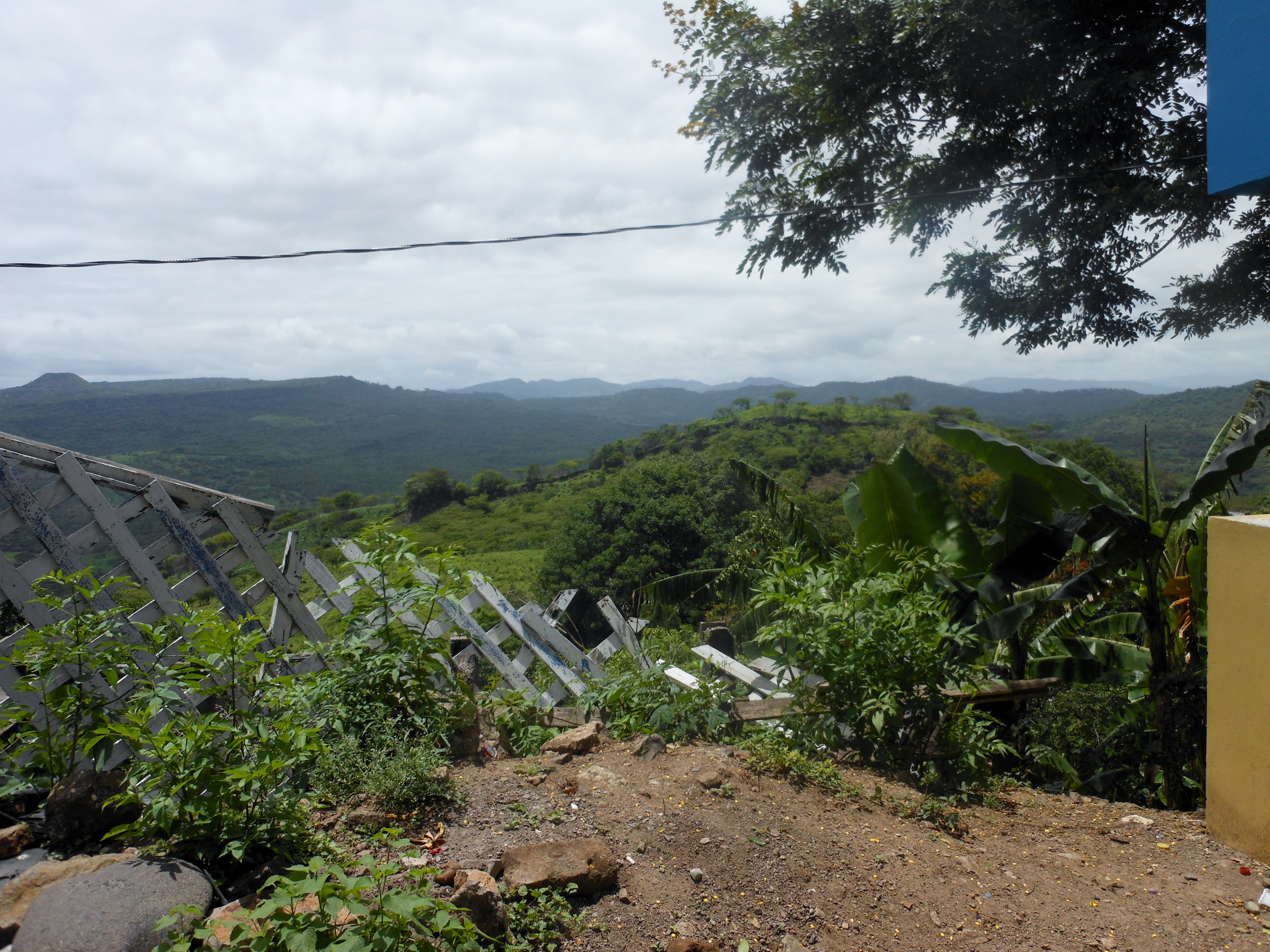 View from the Honduran Border