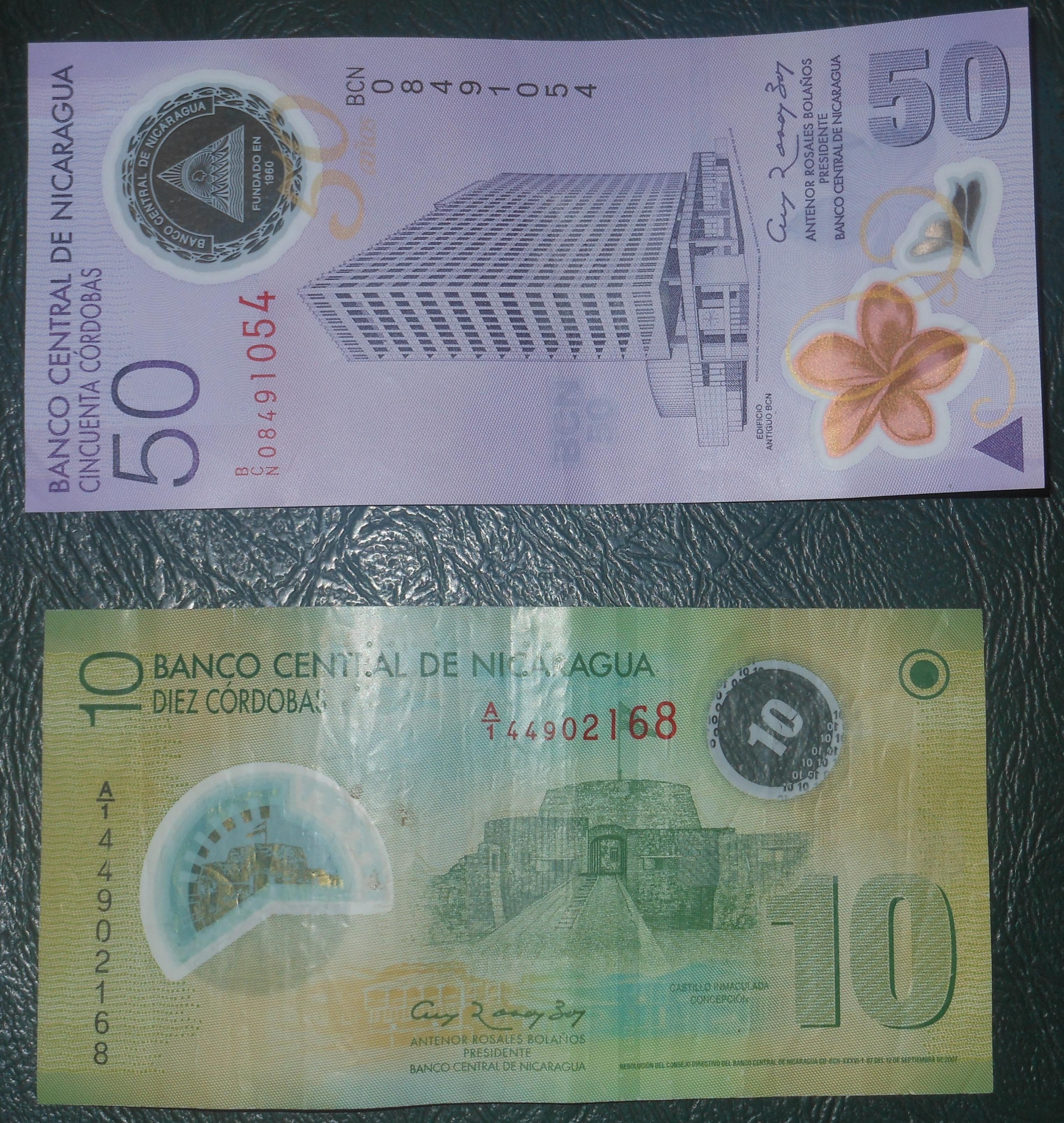The Nicaraguan Cordoba