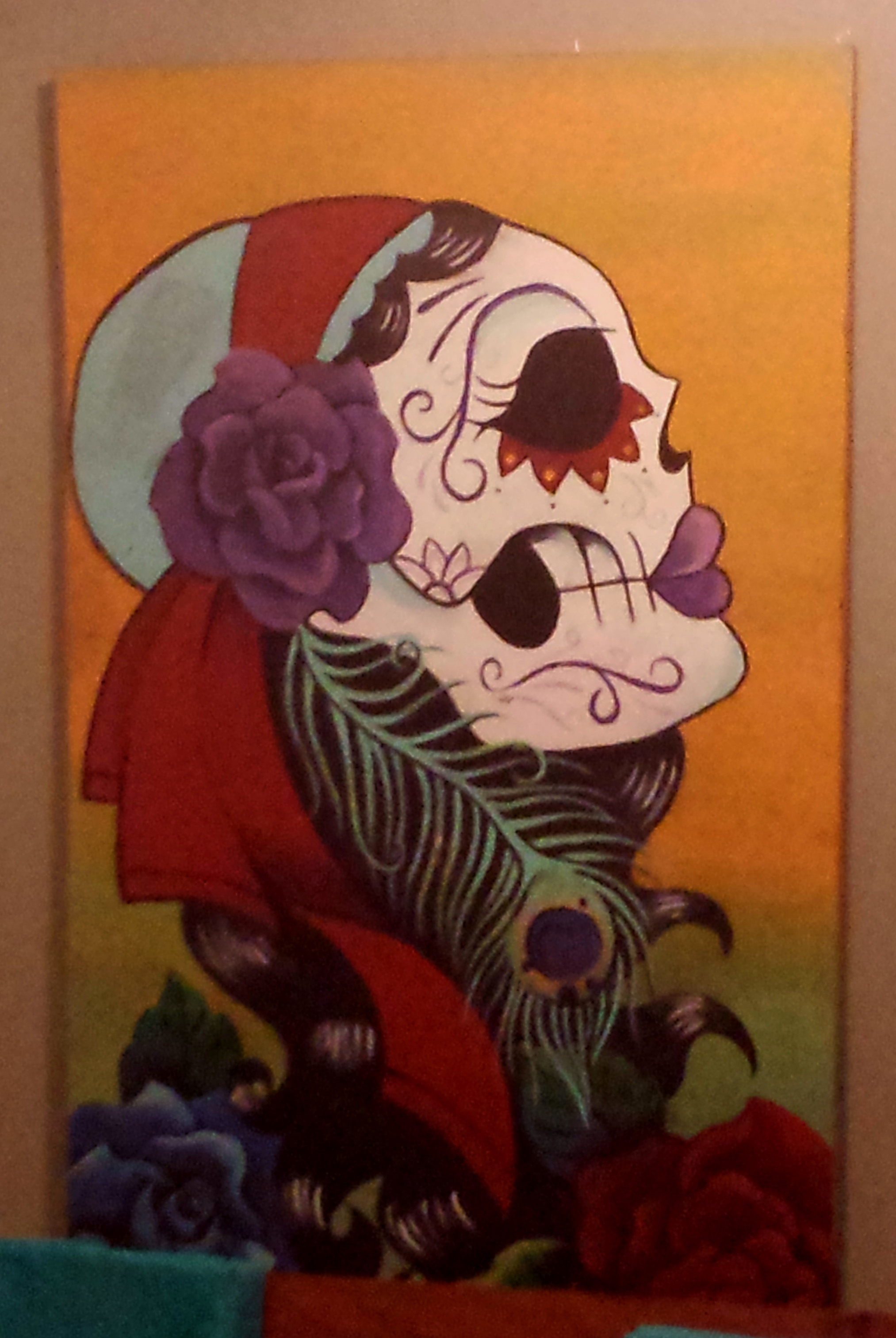 Painting at Pacha Mama