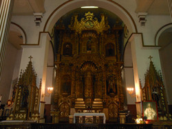 The Golden Altar at Casco Viejo