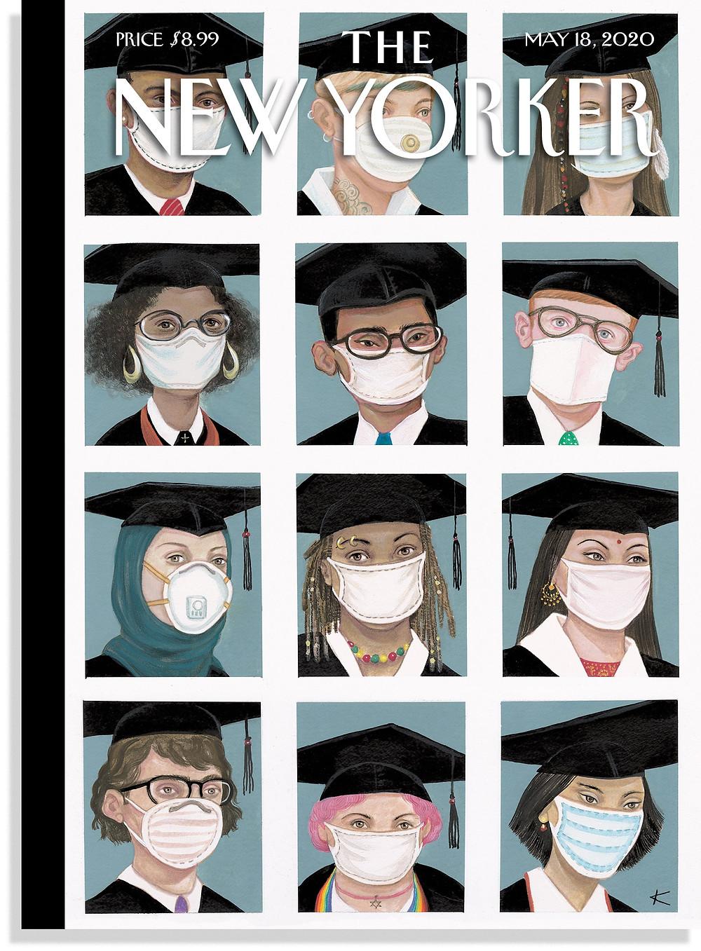 """Class of 2020,"" by Anita Kunz, May 18, 2020"