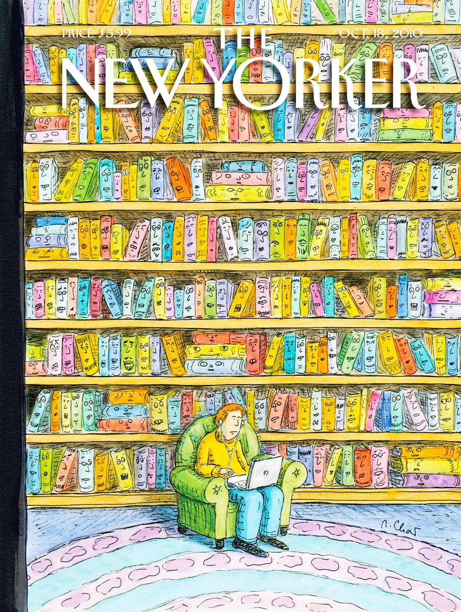 """""""Shelved,"""" by Roz Chast, October 18, 2010"""