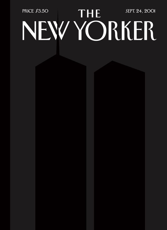 """""""9/11/2001,"""" by Art Spiegelman and Françoise Mouly, September 24, 2001"""
