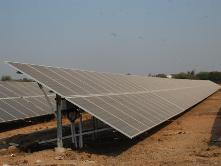 Ceiling on Solar Tariff - SECI would bring future bids as per the market condition and requirements.