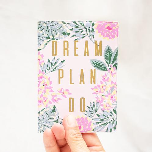 "Porta Pasaporte  ""Dream Plan Do"""