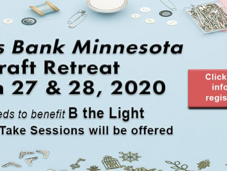 "Citizens Bank 2020 Craft Retreat to Benefit ""B the Light"""