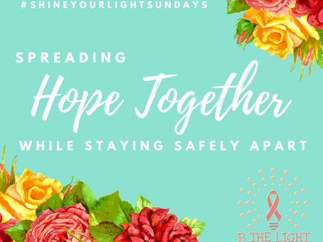 Announcing #ShineYourLightSundays
