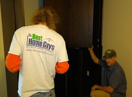 Add a closet without drywall dust